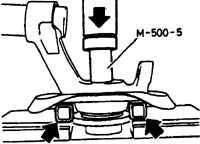 17.3 Замена подшипника переднего колеса