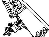 19.41 Двигатель стеклоочистителя задней двери Opel Vectra A