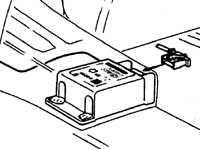 19.63 Блок управления подушками безопасности Opel Vectra A