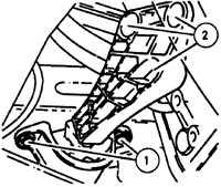 3.10 Замена опор двигателя и коробки передач