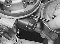 8.33 Шаговый двигатель управления подачей воздуха на оборотах холостого хода Opel Vectra A