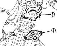 9.5 Клапан EGR (система Simtec)