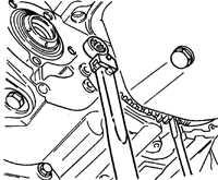 14.18 Снятие и установка автоматической коробки передач