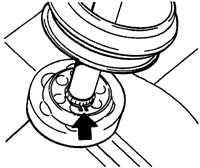 15.5 Замена шарниров приводного вала Opel Vectra A