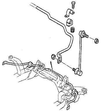 9.7 Стабилизатор поперечной устойчивости передней подвески