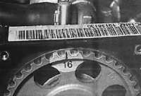 3.1.4 Верхняя мертвая точка (ВМТ) поршня первого цилиндра