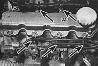 3.1.5 Крышка головки блока цилиндров Opel Vectra B