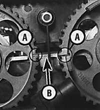 3.2.4 Верхняя мертвая точка (ВМТ) поршня первого цилиндра Opel Vectra B