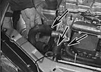 3.5.4 Снятие и установка дизельного двигателя вместе с коробкой передач