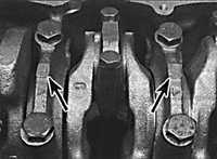 3.5.10 Снятие коленчатого вала Opel Vectra B