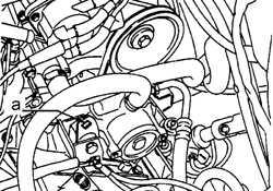 2.4.6 Насос усилителя рулевого управления (XU9J4 с 16 клапанами)