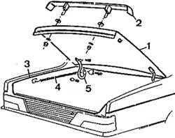 13.18 Крышка багажника (модели Седан)