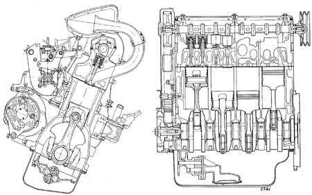3.2.1 Дизельные двигатели