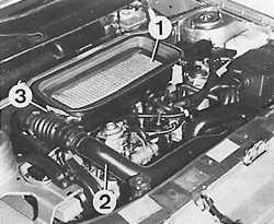 3.2.12 Снятие и установка турбокомпрессора