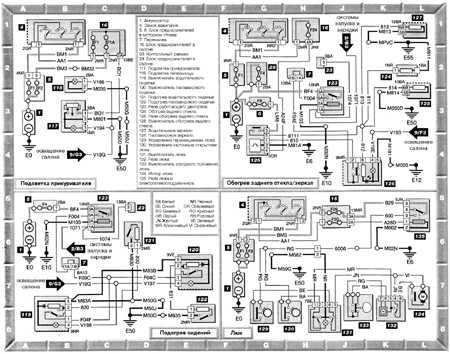 Схема зарядки пежо 406