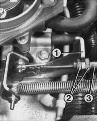 7.4 Тросик управления дроссельной заслонкой (тросик газа)