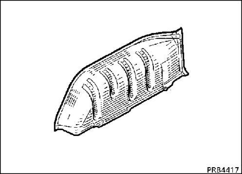 6.  Внутренняя задняя колесная арка