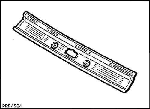 2.  Передняя балка крыши