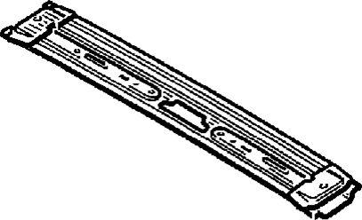 3.  Центральная поперечина крыши