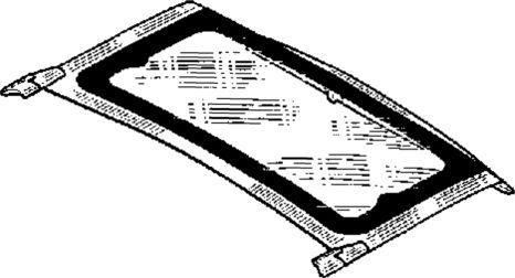 4.  Раскрывающаяся секция крыши