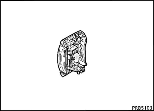 7.  Внутренняя ручка привода замка сдвижной двери