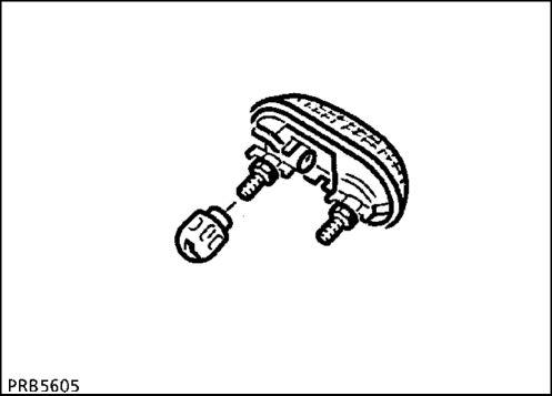 3.  Жиклер-распылитель омывателя заднего стекла