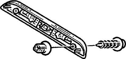 4.  Фонарь освещения номерного знака
