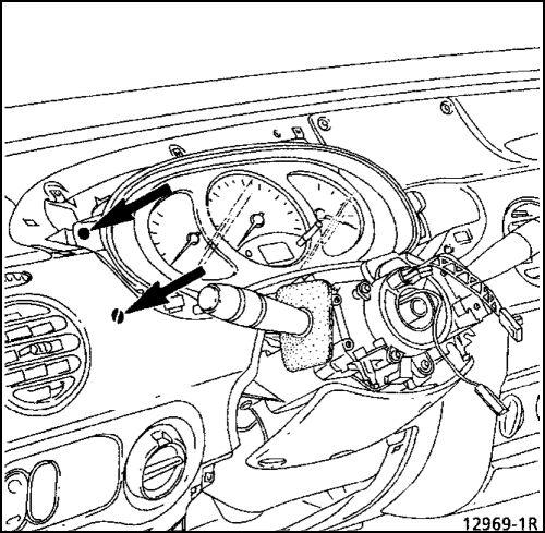 5.  Воздухораспределительный блок Renault Kangoo