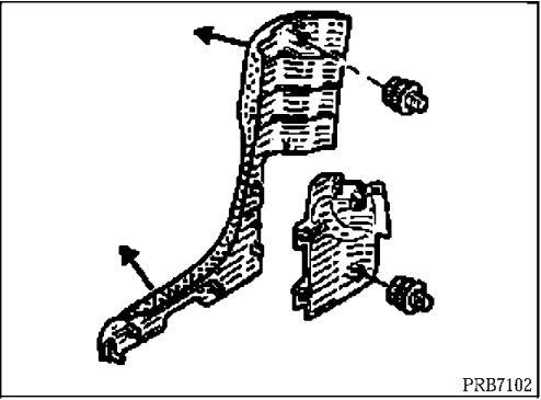 2.  Облицовка центральной стойки