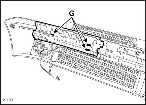 1.  Передний бампер Renault Kangoo