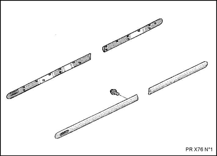 2.  Боковые защитные накладки