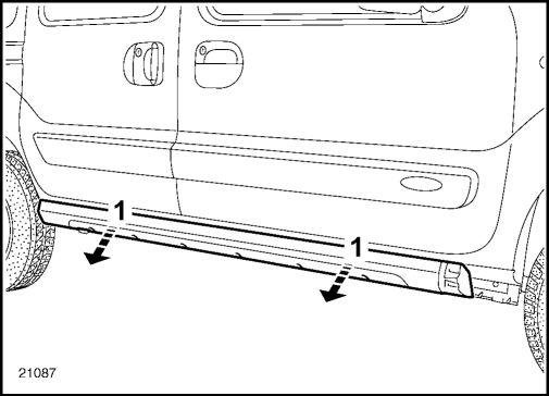 4.  Панель порога