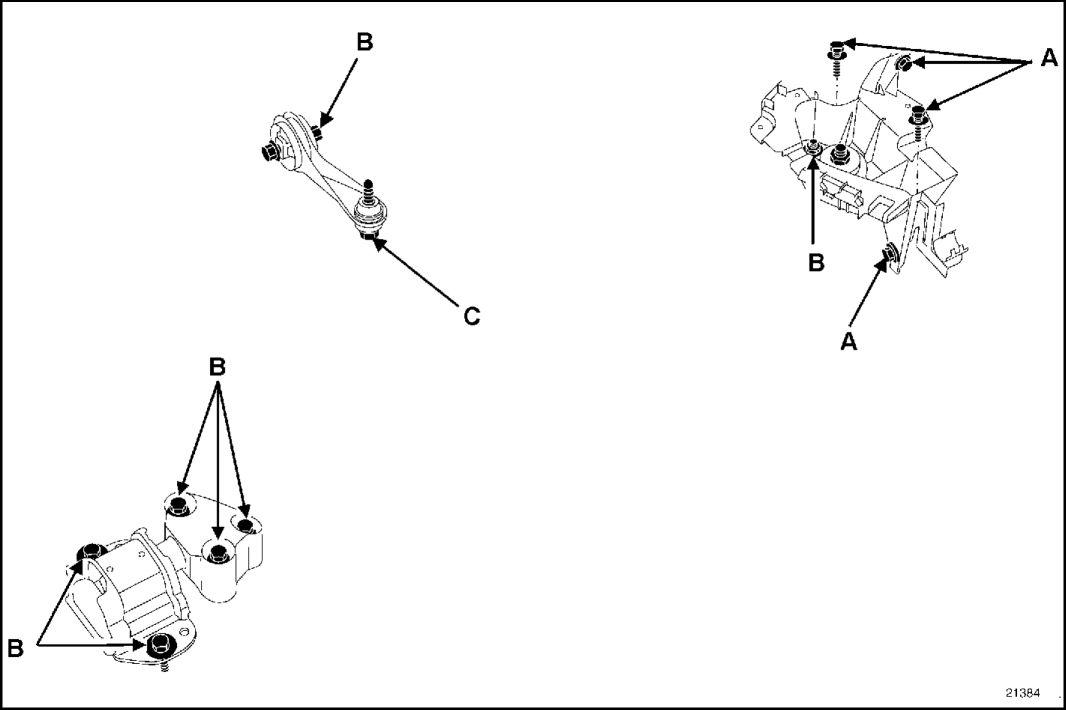 Схема ходовой рено кангу 183