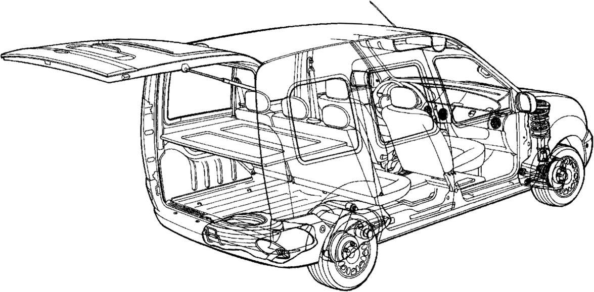 1.  Общий вид Renault Kangoo