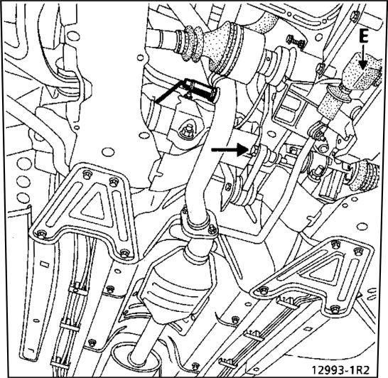 5.  Коробка передач (снятие - установка) Renault Kangoo