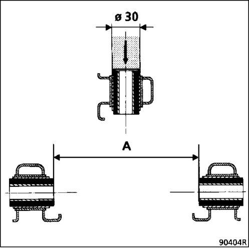 2.  Сайлент-блоки нижнего рычага