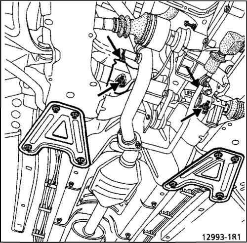 8.  Подрамник Renault Kangoo