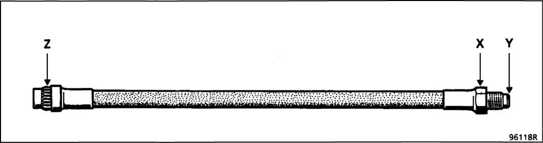 7.  Тормозные шланги