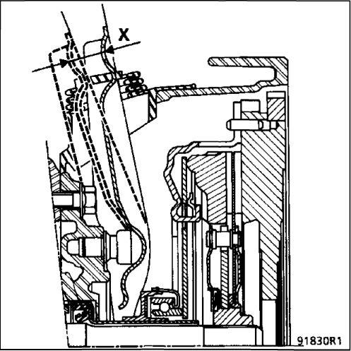 10.  Автоматический компенсатор износа дисков сцепления