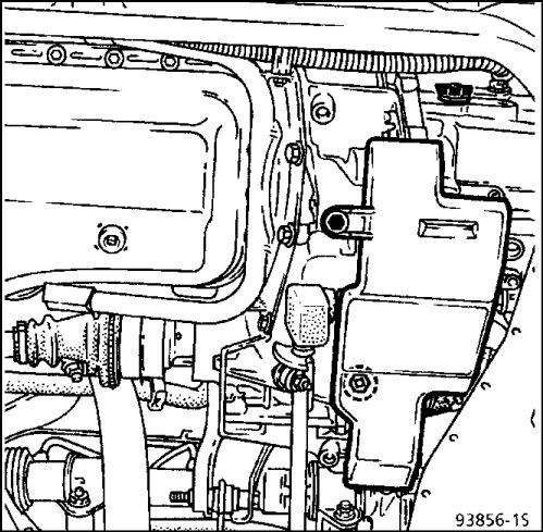 11.  Механизм управления коробкой передач Renault Kangoo