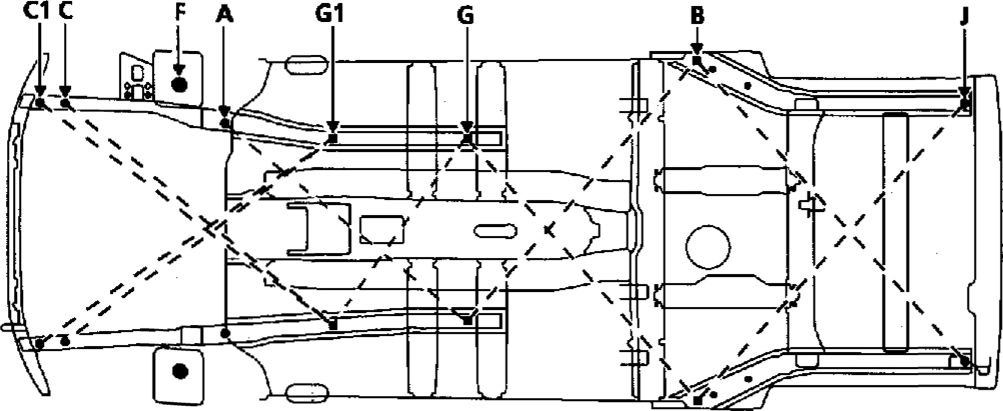 10.  Диагностика состояния кузова при повреждениях