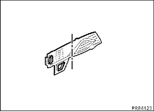 3.  Накладка переднего лонжерона Renault Kangoo