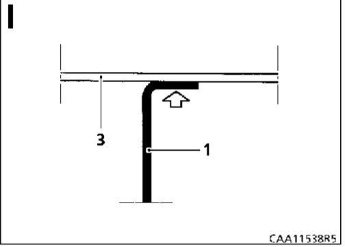 5.  Передняя боковая поперечина Renault Kangoo