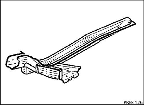6.  Задняя часть переднего лонжерона