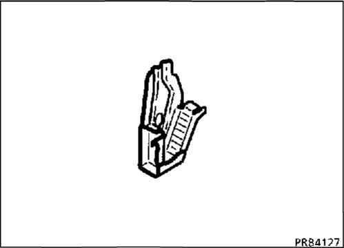 7.  Передний кронштейн крепления подрамника