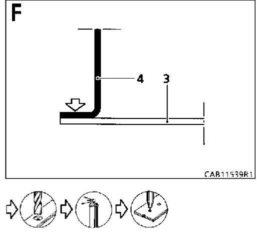 7.  Передний кронштейн крепления подрамника Renault Kangoo