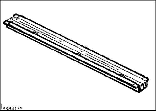 14.  Элемент жесткой задней части пола