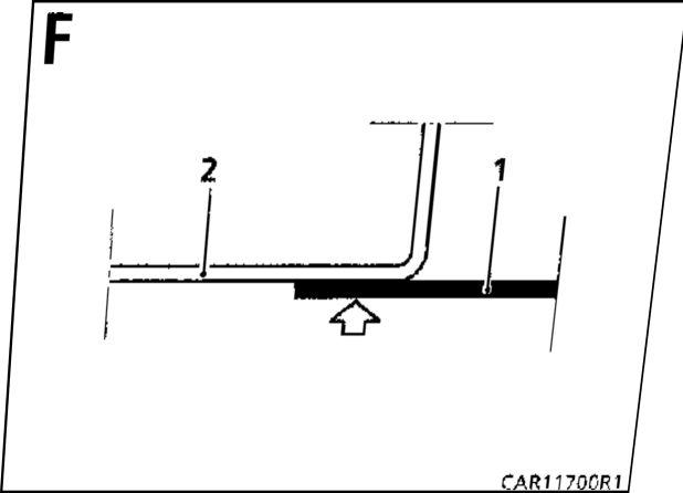21.  Нижний усилитель крепления сиденья  Renault Kangoo