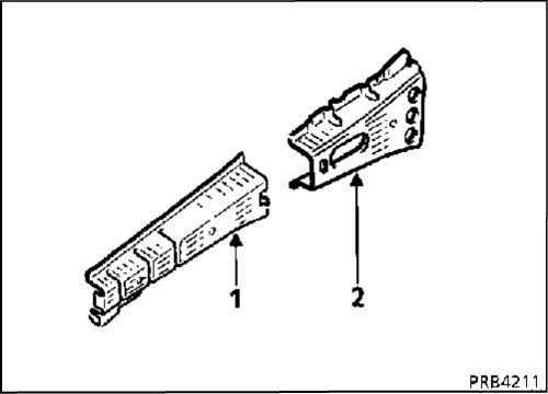 4.  Усилитель переднего брызговика