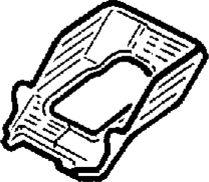 9.  Кронштейн рулевой колонки